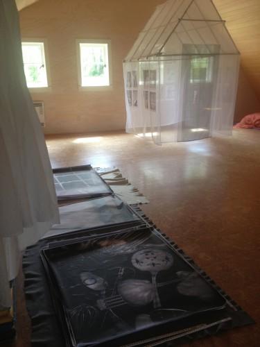 Hanna Barn Residency, June 2013