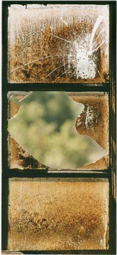 Quartermaster House Upper West Room window (Michelle Bates)