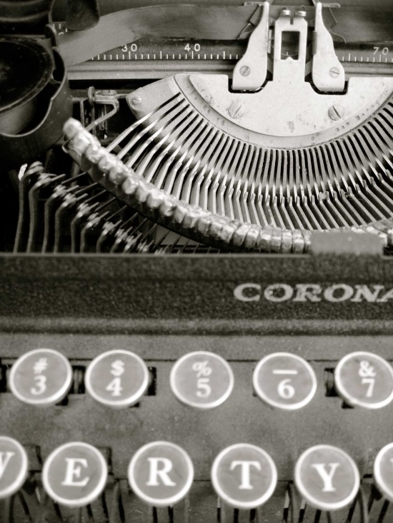 Office - typewriter (Patricia Toovey)